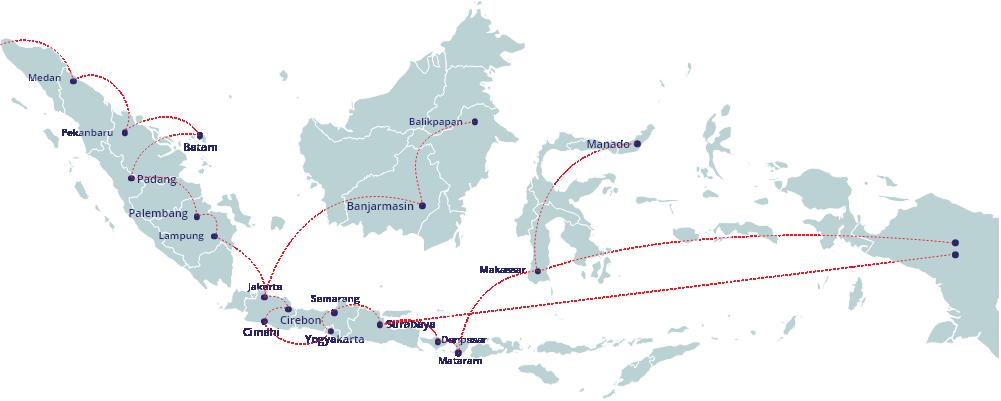 map distribution